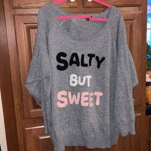 Torrid Salty but Sweet Plus Size Sweater Size 5